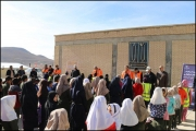 1-1144-180-150-100 مراسم یادبود قربانیان سوانح جادهای در روستای چمن بید خراسان شمالی | جمعیت طرفداران ایمنی راهها